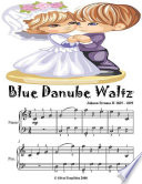 Blue Danube Waltz   Easy Piano Sheet Music Junior Edition