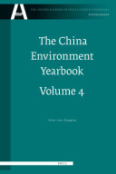 The China Environment Yearbook, Volume 4