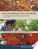 Pests of Landscape Trees and Shrubs  Third Edition