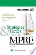 Strategies   Tactics for the MPRE