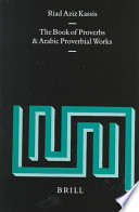 The Book of Proverbs and Arabic Proverbial Works