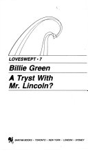 download ebook a tryst with mr. lincoln? pdf epub