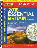 Philip's Essential Road Atlas Britain and Ireland 2018