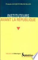 Les Petites Écoles Sous L'ancien Régime par François Jacquet-Francillon