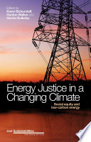 Energy Justice In A Changing Climate : least developed, concepts associated with...