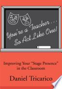 You re a Teacher