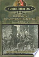 The Army In Transformation 1790 1860