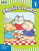 Phonics Vowels Grade 1 book
