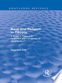 Rank and Religion in Tikopia  Routledge Revivals