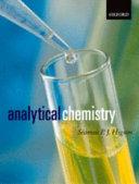 Analytical Chemistry Book PDF