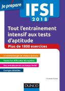 IFSI 2018 Tout l entra  nement intensif aux tests d aptitude
