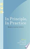 In Principle  In Practice