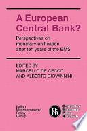 A European Central Bank