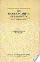 The Harshacarita of Banabhatta