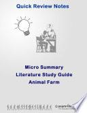 Literature Quick Micro Summary  Animal Farm