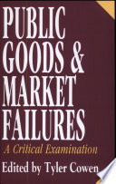 Public Goods and Market Failures