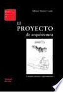 El proyecto de arquitectura