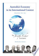 Australia s Economy in Its International Context  Volume 2  1956   2012