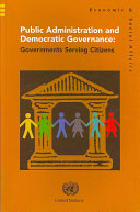 Public Administration and Democratic Governance