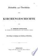 Zeittafeln und Überblicke zur Kirchengeschichte von Hermann Weingarten