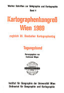 Kartographenkongress, Wien 1989