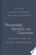 Personality  Identity  and Character