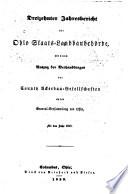 Jahresbericht der Ohio Staats-Landbaubehörde ...