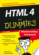 HTML 4 f  r Dummies