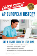 AP R  European History Crash Course Book   Online