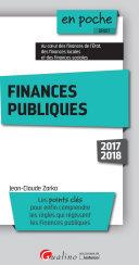 Finances publiques 2017 2018
