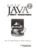 Core JAVA2 - Vol. 2 : the java programming language...