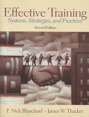 Effective training : Systems strategies and practices