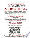 Maandelijkse Nederlandsche Mercurius