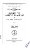 Markets for American Hardware in Italy  Spain  and Portugal