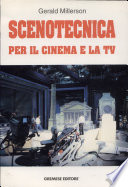 Scenotecnica per il cinema e la Tv