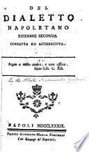 Collezione di tutti i poemi in lingua napoletana