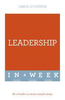 Leadership In A Week