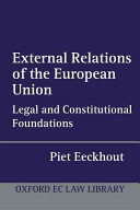 External Relations of the European Union
