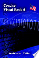 Concise Visual Basic 6 0 Course