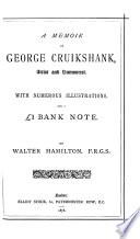 A Memoir of George Cruikshank Book PDF