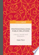 Professionalizing Public Relations