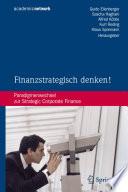Finanzstrategisch denken