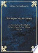 Gleanings of Virginia History