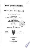 Aeltere Universitätsmatrikeln: Bd. 1646-1700