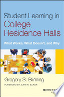 Student Learning in College Residence Halls