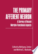 The Primary Afferent Neuron Symposion The Primary Afferent Neuron A