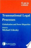 Transnational Legal Processes