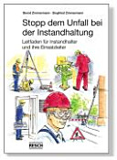 Stopp dem Unfall bei der Instandhaltung