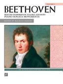 Beethoven -- Selected Intermediate to Early Advanced Piano Sonata Movements