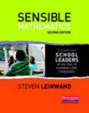 Sensible Mathematics